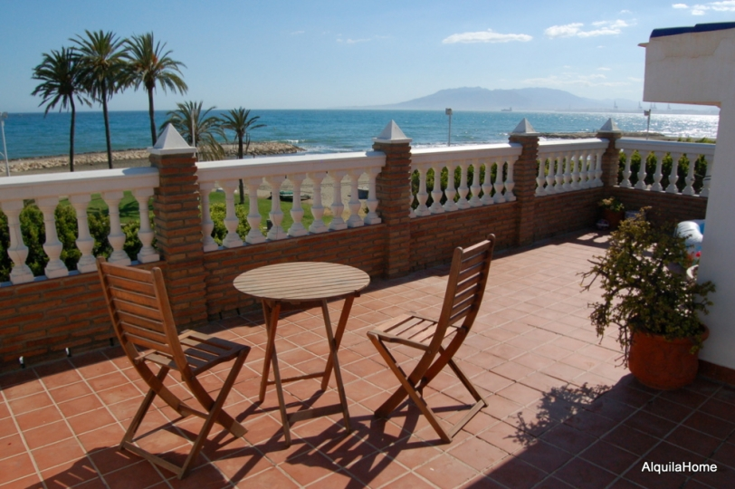 Beautiful Holiday Penthouse, Directly at The Beach of Malaga, for 4-6 Persons, with A Big Terrace