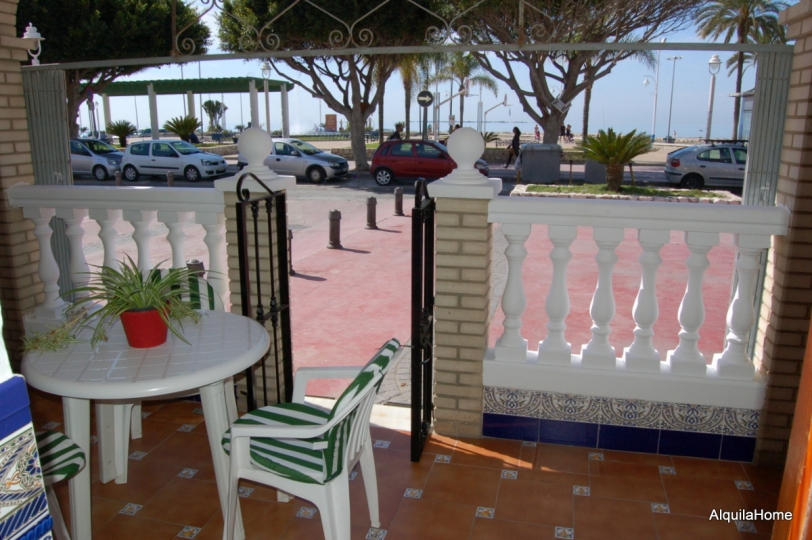 Beachfront Holiday Home in El Palo Malaga