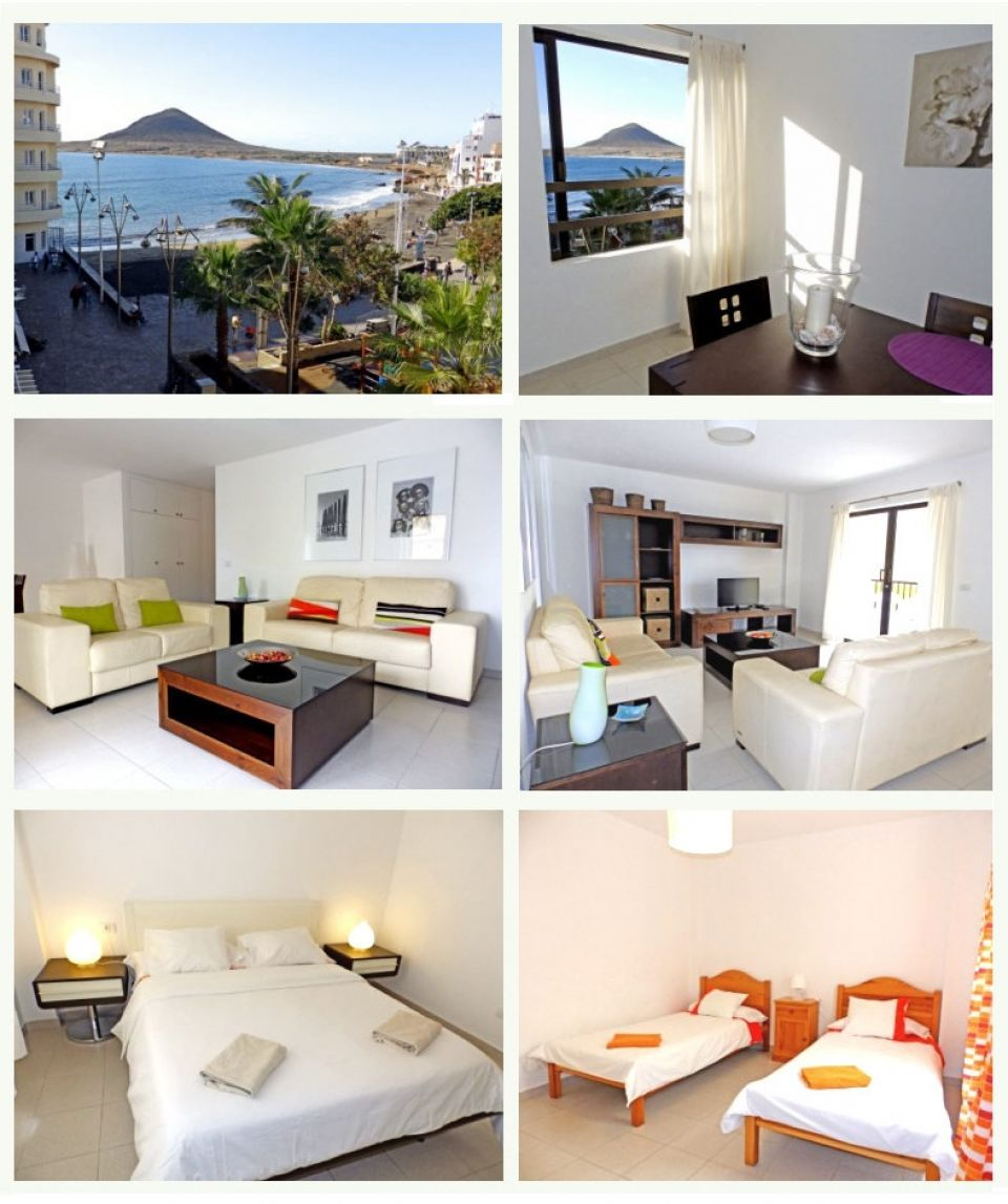 Holiday apartment at beachfront of El Médano, Tenerife