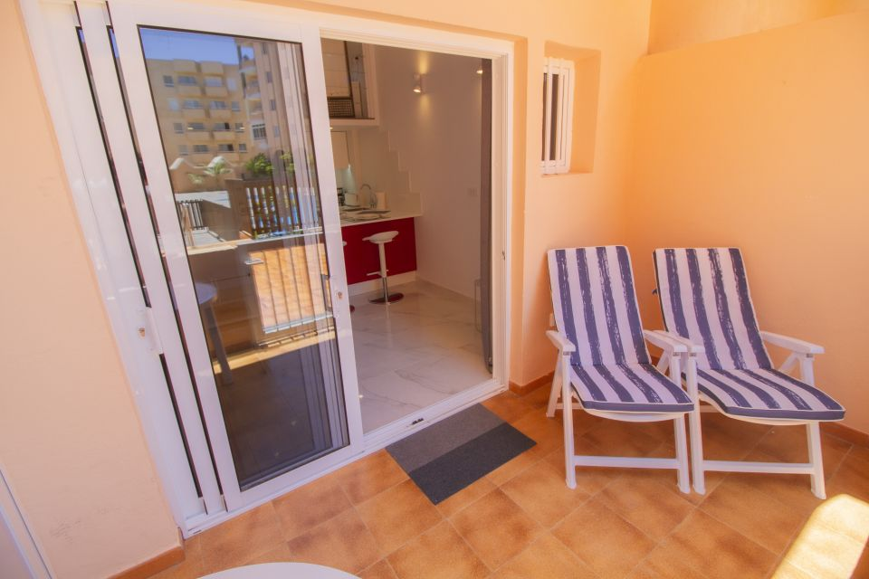 Holiday studio apartment for 3 persons with a communal pool - El Medano